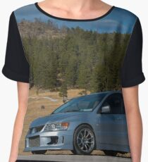Mitsubishi Lancer Evolution xii Chiffon Top