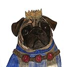 King Pug, King of the Pugs by merrkat