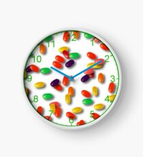 Colourful jelly beans Clock