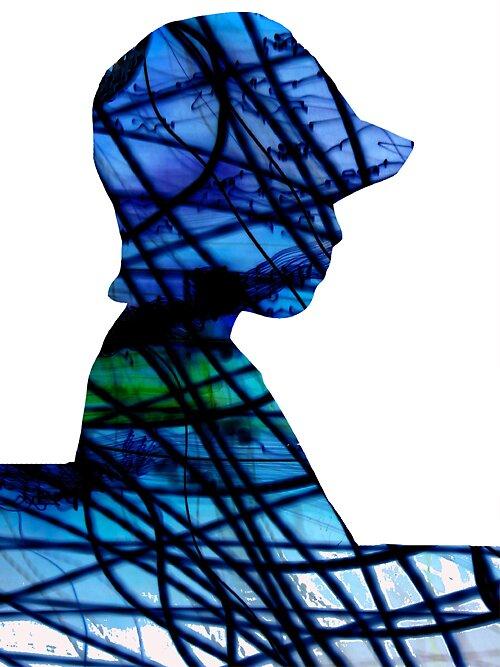 Blue by Viviane Cathmoir