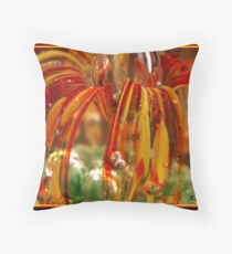 Paper Weight Bubbles Throw Pillow