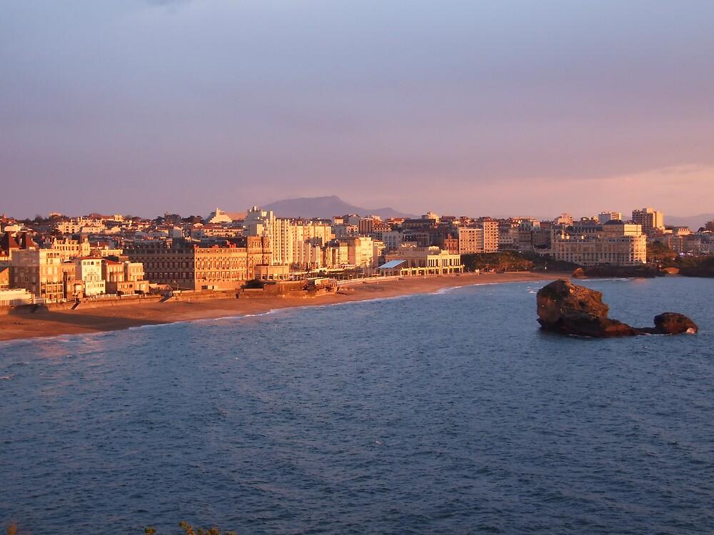 Biarritz . . .wat a postcard by griffoo