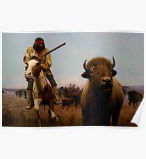 Native American Hunter Poster