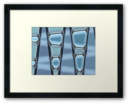 Blue framed by kenwalters