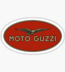 Moto Guzzi Retro Logo Sticker