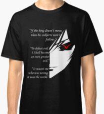 The TESTAMENT of LELOUCH VI BRITANNIA Classic T-Shirt