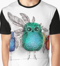 owl feathers Graphic T-Shirt