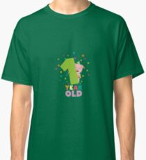 One Year first Birthday Party R80cw Classic T-Shirt