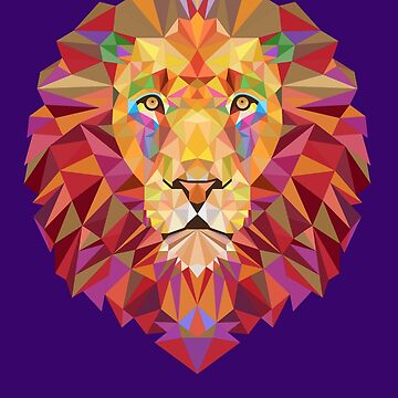 Geometric Lion by EsotericExposal