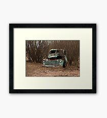 Abandoned Truck 1 Framed Print