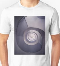 Spiral staircase in plum tones T-Shirt