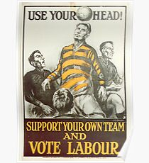 Labour Party Poster 1923 Poster