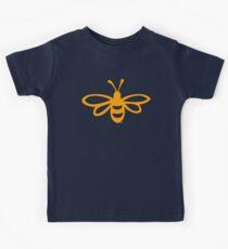 Buzzy Bee Cute T-Shirt by Hans  Kids Tee