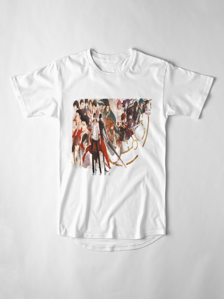 Vista alternativa de Camiseta larga Quan Zhi Gao Shou