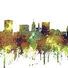 Skyline von Baltimore, Maryland - SG - Safari Buff von Marlene Watson