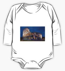 Colosseum At Night One Piece - Long Sleeve