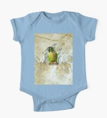 Wonderful, cute parrot  One Piece - Short Sleeve