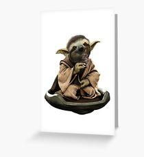 Inner Peace Sloth Yoda  Greeting Card