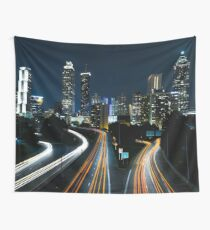 Atlanta Lights Wall Tapestry