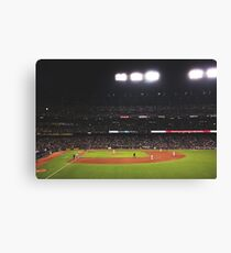 AT&T Park At Night Canvas Print