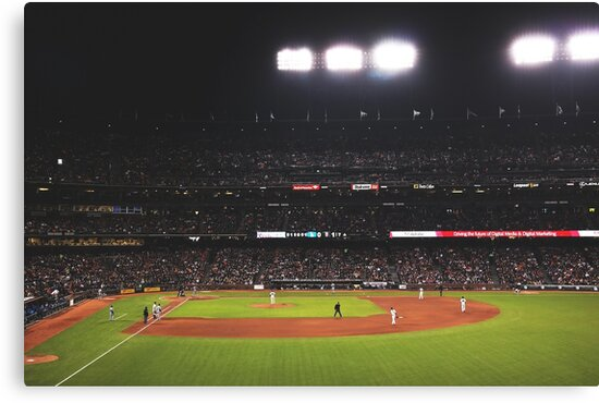 AT&T Park At Night by Boy-With-Hat