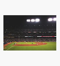 AT&T Park At Night Photographic Print