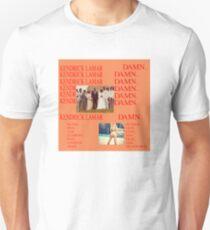 DAMN. KENDRICK KANYE LIFE OF PABLO  Unisex T-Shirt