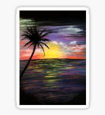 Sunset Sea Sticker