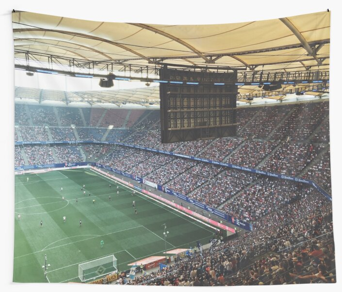 Volksparkstadion by Boy-With-Hat