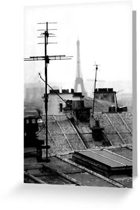eiffel towers...... by deborah parker