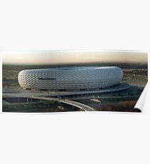 Allianz Arena exterior Poster