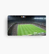 Camp Nou Crowded Canvas Print