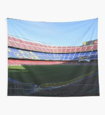 Camp Nou Wall Tapestry