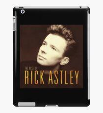 RICK ASTLEY IN BROWN -FAJAR- iPad Case/Skin