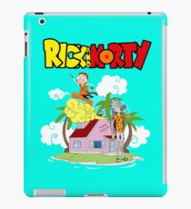 rick and morty holidays iPad Case/Skin