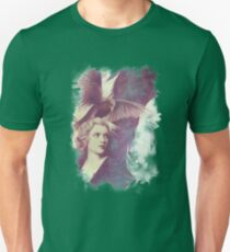 The Lady of Ravens surreal artwork Unisex T-Shirt