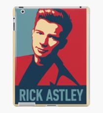 RICK ASTLEY IN POSTER -FAJAR- iPad Case/Skin