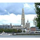 Antwerp Our Lady Cathedral by Gilberte