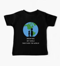 Dreams and Goals Baby Tee