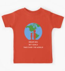 Dreams and Goals Kids Tee