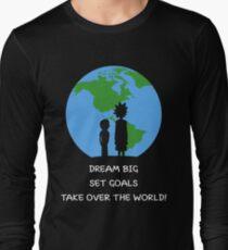 Dreams and Goals Long Sleeve T-Shirt