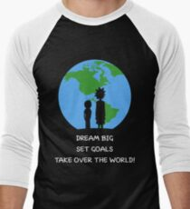 Dreams and Goals Men's Baseball ¾ T-Shirt