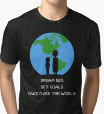 Dreams and Goals Tri-blend T-Shirt