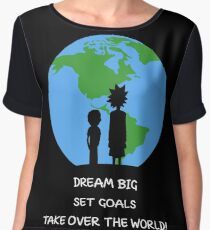 Dreams and Goals Chiffon Top