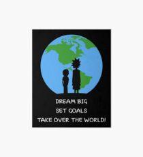 Dreams and Goals Art Board