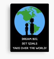 Dreams and Goals Canvas Print