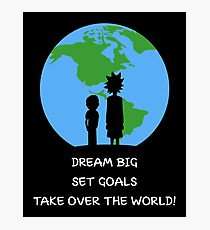 Dreams and Goals Photographic Print