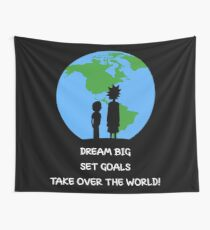 Dreams and Goals Wall Tapestry