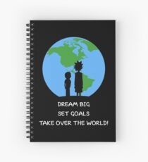 Dreams and Goals Spiral Notebook