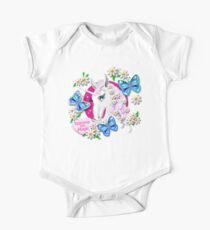 Japanese Kawaii and Harajuku Inspired Retro Unicorns are Magic Pattern by Moose Disco Kids Clothes